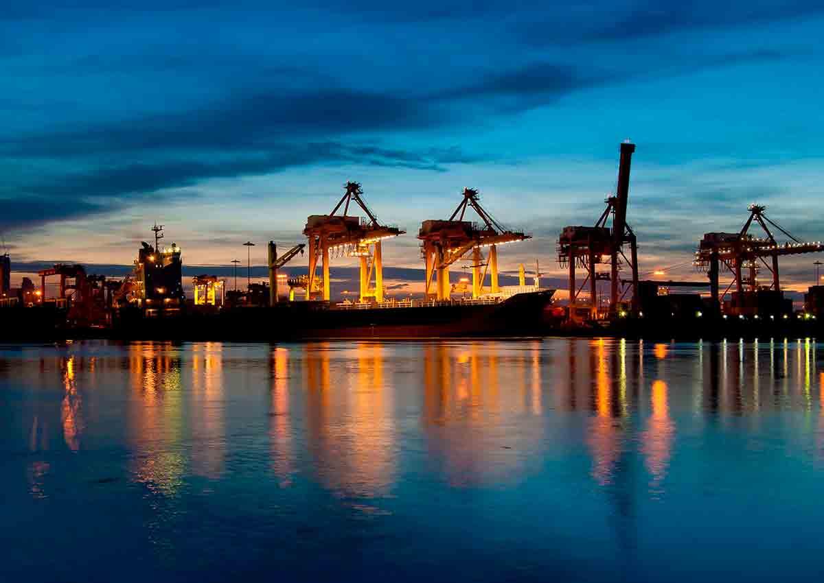 Die Industrielle Revolution birgt auch Schwierigkeiten wie den Warentransport